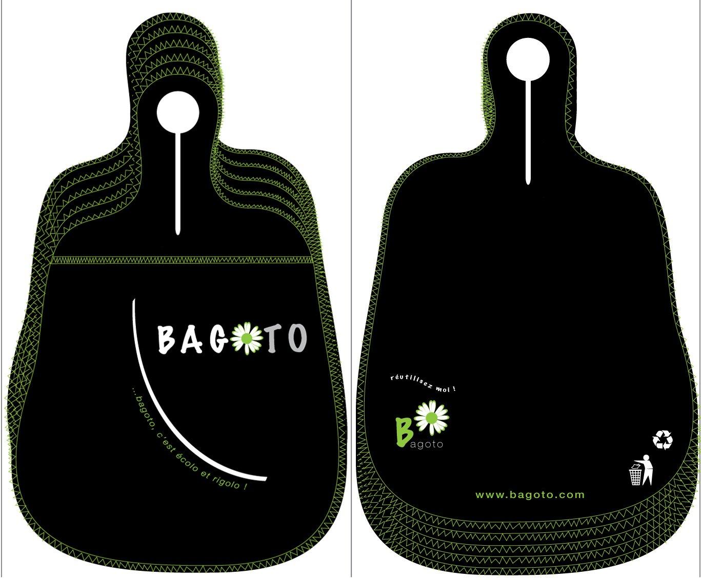 Bagoto®, le petit sac de propreté pour la voiture : pack de 5 noirs 50%OFF