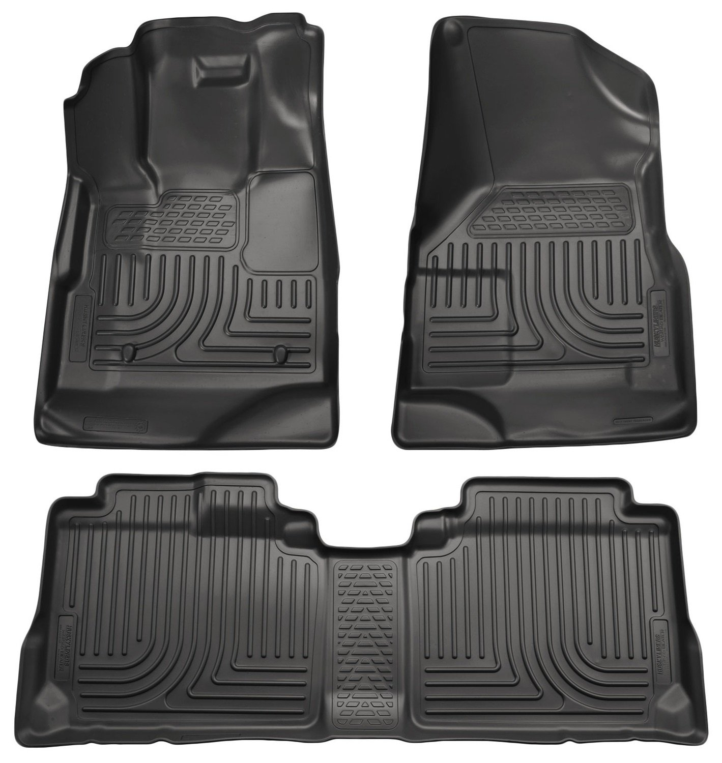 Husky Liners Front & 2nd Seat Floor Liners Fits 10-16 SRX