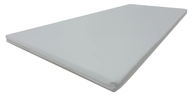 Dibapur® VISCO Topper 3D Air Fresh Bezug Viscoelastische Memory Matratzenauflage (3D AIR 180x200) x ca. 5 cm Kern mit Bezug ca. 5,2 cm - Made in Germany