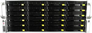 SuperMicro 4U CSE-846 24 Bay SAS2 BP X9DRi-F/2x, 2X Xeon E5-2620 12-Core 2.00 GHz, 16GB DDR3, 24x Trays, IT Mode, Rails