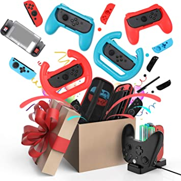 Kit de Accesorios para Nintendo Switch Games Bundle Funda de ...