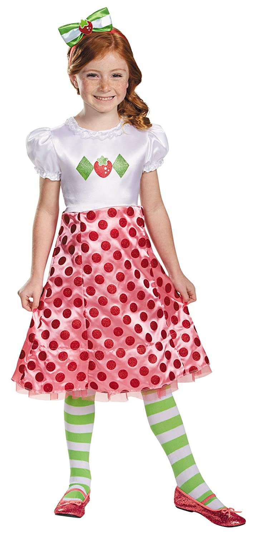 UHC Girl 's Strawberry Shortcakeテーマ幼児子ハロウィンファンシーコスチューム Child S (4-6X) マルチカラー B075RB8XCW