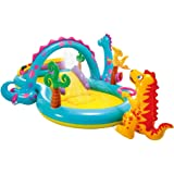 New Shop INTEX DINOLAND PLAY CENTER INFLATABLE KIDS POOL by Love Greenland