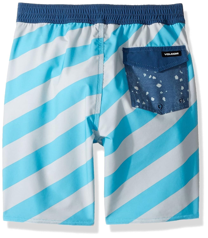 Volcom Boys Stripey Elastic 12.5 Little Youth Boardshort