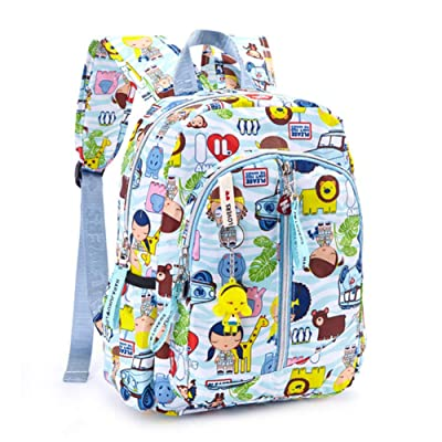 Harajuku Lovers Series Kid's Backpack, Nylon Waterproof Mini Bookbag for Girls/Boys School Bag | Kids' Backpacks