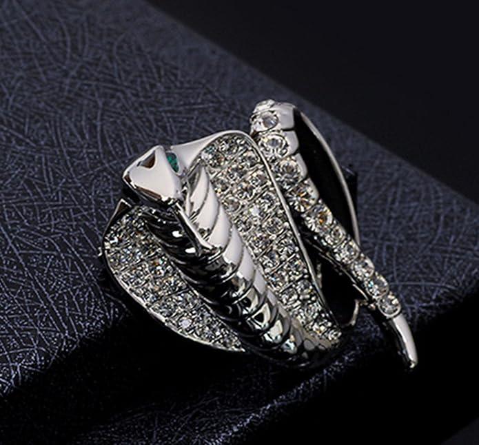 Amazon.com: octchoco serpiente Broches Hombres Trajes Collar ...