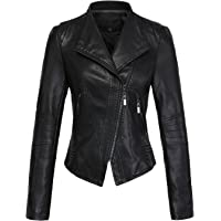 cc10ffaf9ea Amazon Best Sellers  Best Women s Leather   Faux Leather Jackets   Coats