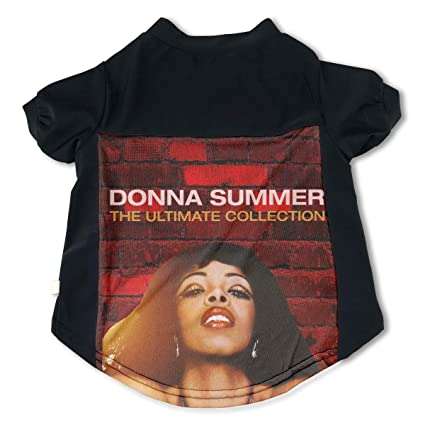 d359cf68231 Amazon.com  Trisharosew Donna Summer Music Band Pet T-Shirt Breathable Pet  Shirts S Gift  Home   Kitchen