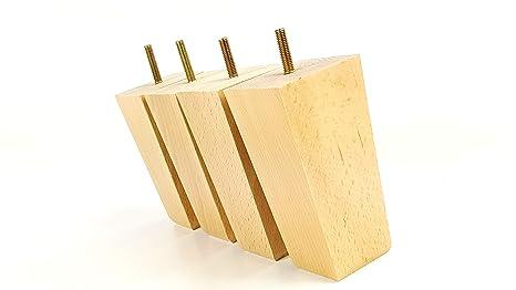 Knightsbrandnu u piedini di ricambio in legno per divani