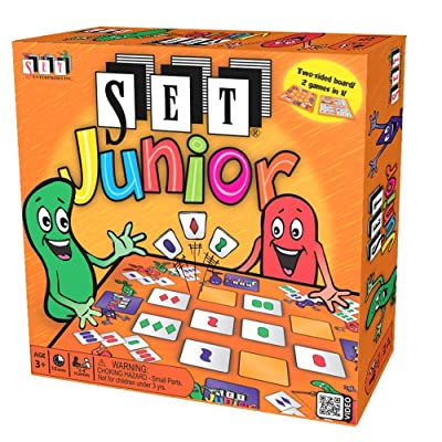 SET Junior Board Game: Toys & Games [5Bkhe1103660]