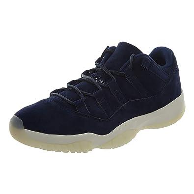 online store 773b5 1eaf2 Amazon.com | Jordan Air XI (11) Retro Low (Jeter) | Fashion ...