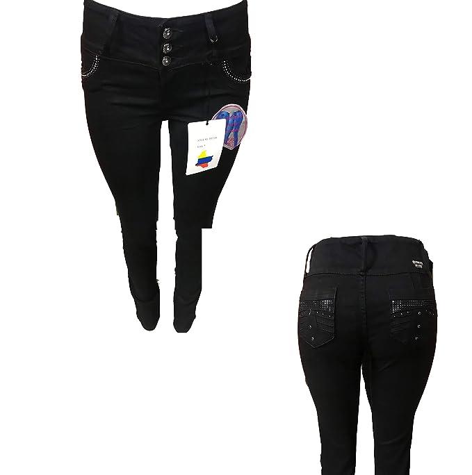 Amazon.com: Tush Push 1278 - Pantalones vaqueros de estilo ...