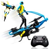 Force1 Stunt Rider RC Mini Drone for Kids - Remote Control Indoor Beginner Drone Flying Toy with Multiple Flying Modes…