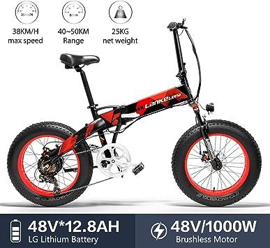 LANKELEISI X2000 - Neumático grande para bicicleta eléctrica ...