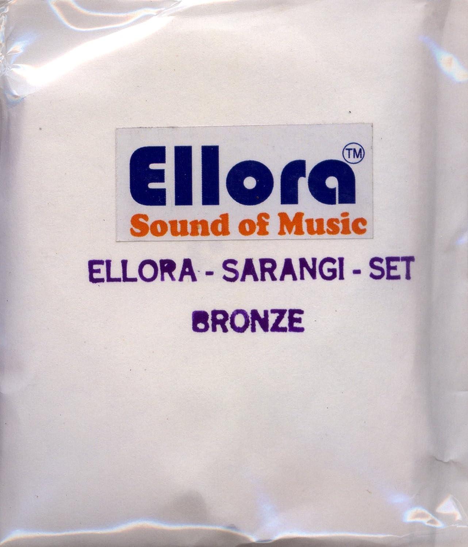 Sarangi Strings, Ellora, Bronze, Professional Quality, Complete Set Nadsadhna