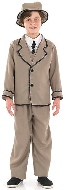Steampunk Kids Costumes | Girl, Boy, Baby, Toddler Edwardian Boy - Childrens Fancy Dress Costume $27.35 AT vintagedancer.com