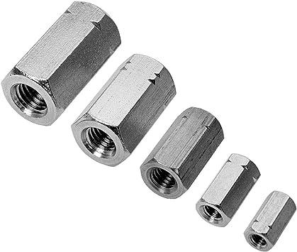 Eisenwaren2000 10 St/ück Edelstahl A2 V2A rostfrei - Gewindemuffen Sechskant M12 x 40 mm Sechskantmuffe