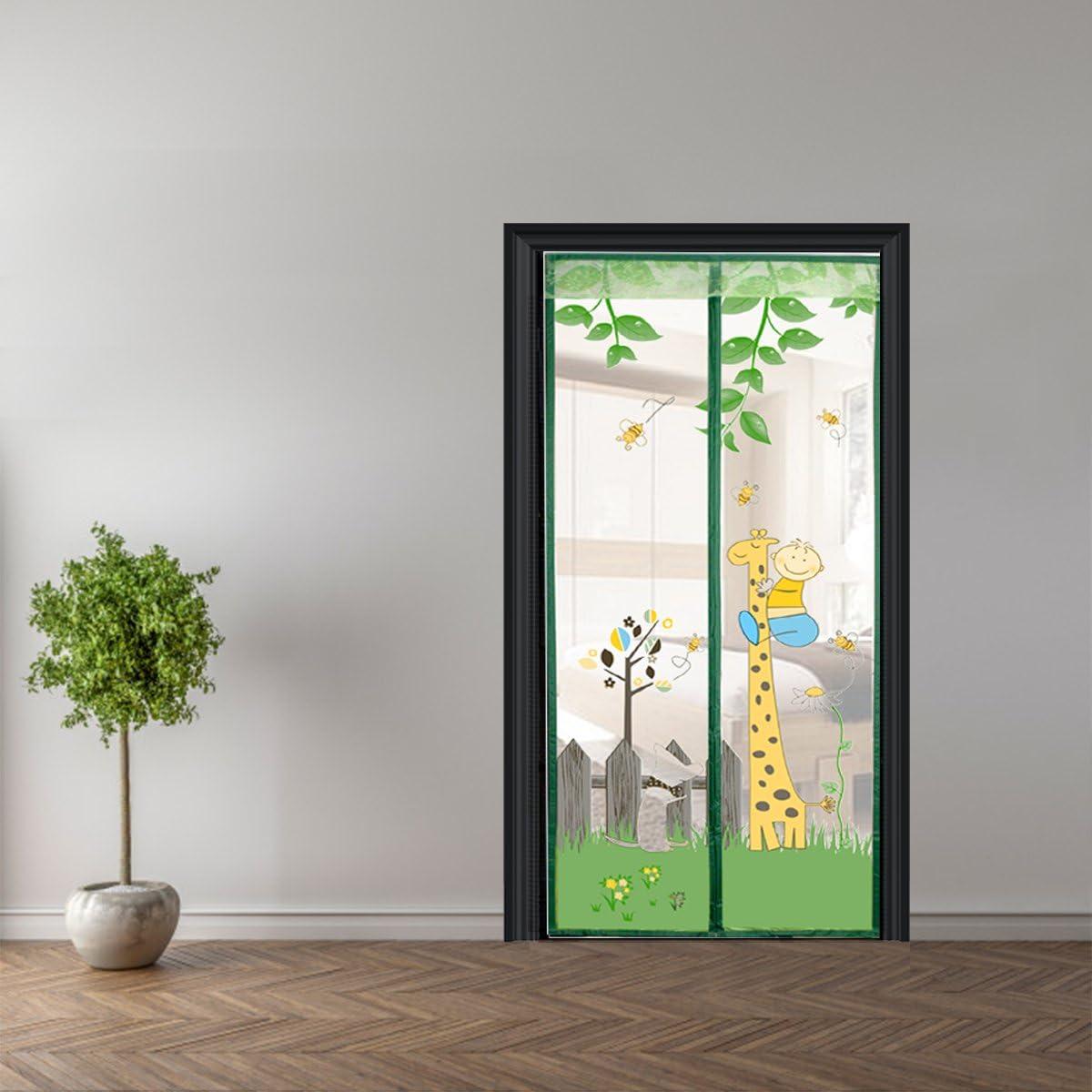Mosquitera para puerta de rejilla antimosquitos magnético cortina ...