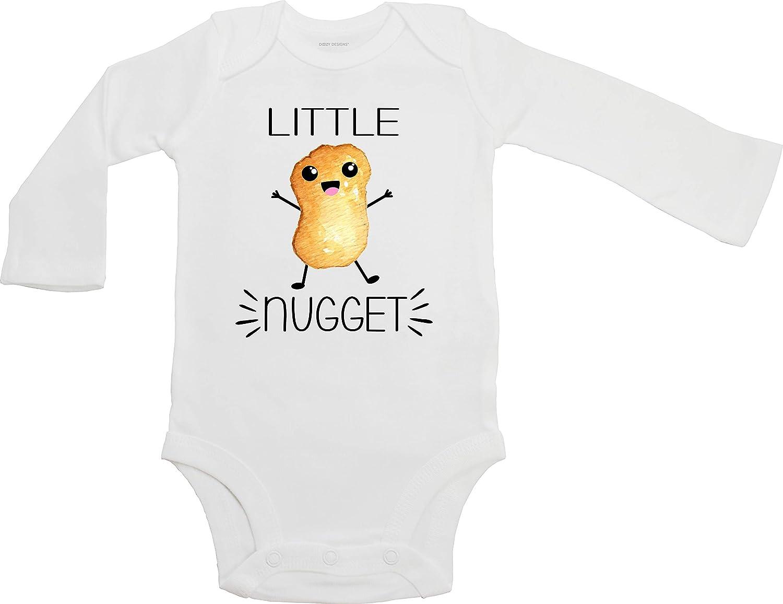 Little Nugget - Funny Unisex Baby Bodysuit (Long Sleeve Cotton Bodysuit)