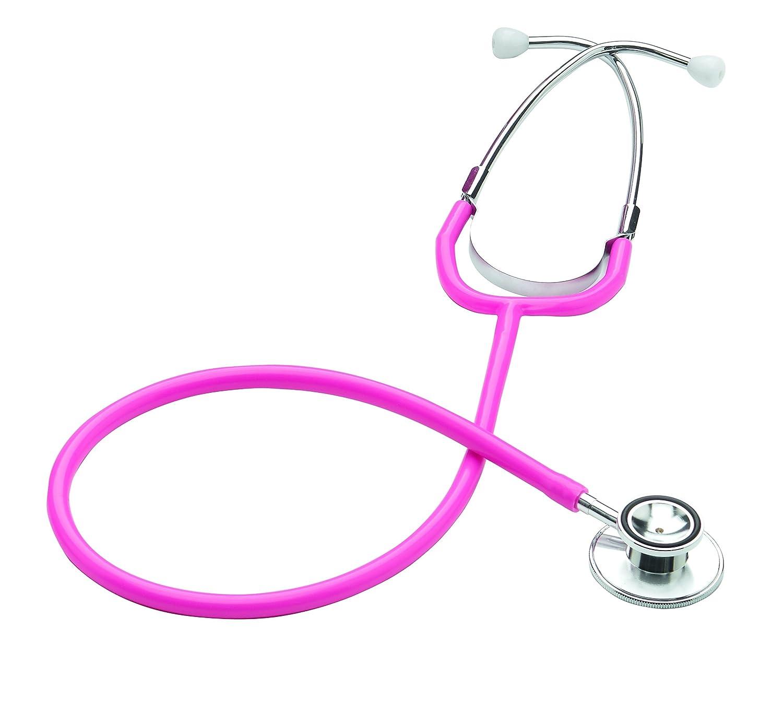 Merlin Medical Professional Estetoscopio doble color rosa