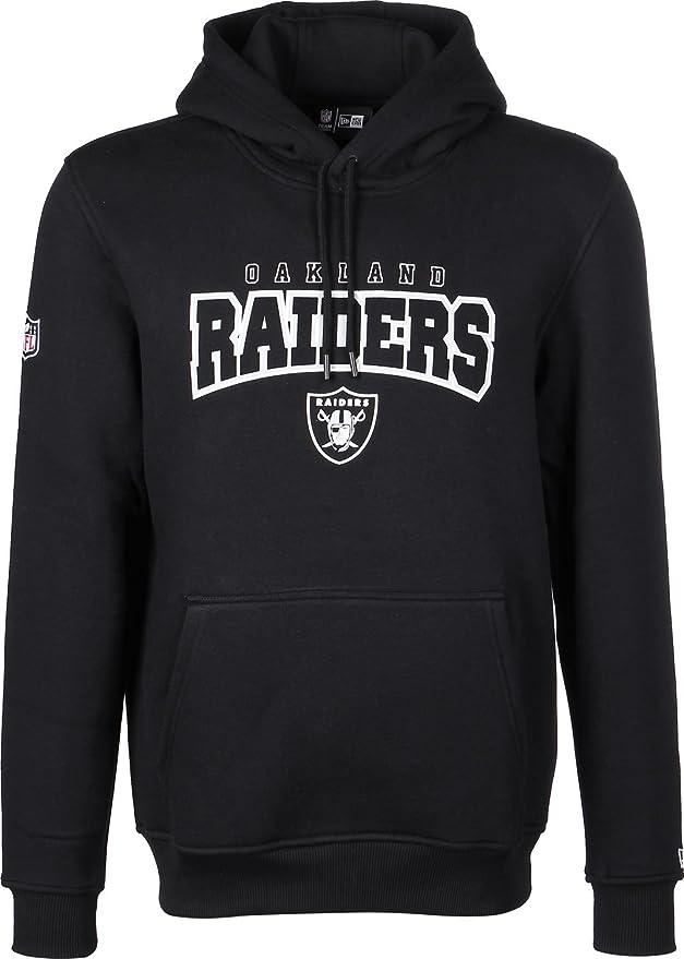 c4f61f549c5 New Era Men Overwear Hoodie NFL Ultra Fan Oakland Raiders  Amazon.co.uk   Clothing