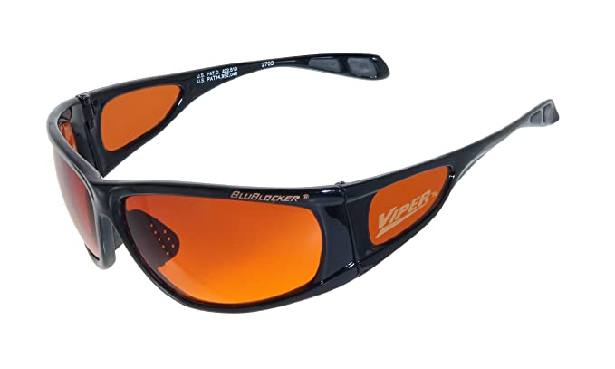 Official BluBlocker Black Viper Sunglasses