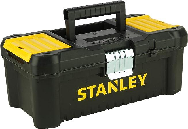 STANLEY STST1-75515 - Caja de herramientas de plastico con cierre metálico, 18 x 13 x 32.5 cm: Amazon.es: Bricolaje y herramientas