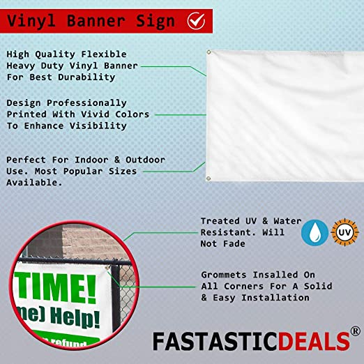 Please Come Again Nautical Wave Heavy-Duty Outdoor Vinyl Banner 8x4 CGSignLab