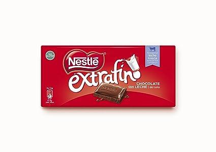 Nestlé - Chocolate con leche extrafino - 125 gr