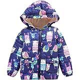 Newborn Baby Clothes, ❤️ Zolimx Niños Bebé Niña Niño de Invierno de Dibujos Animados Abrigo Capa Chaqueta Gruesa Ropa de Abrigo Caliente