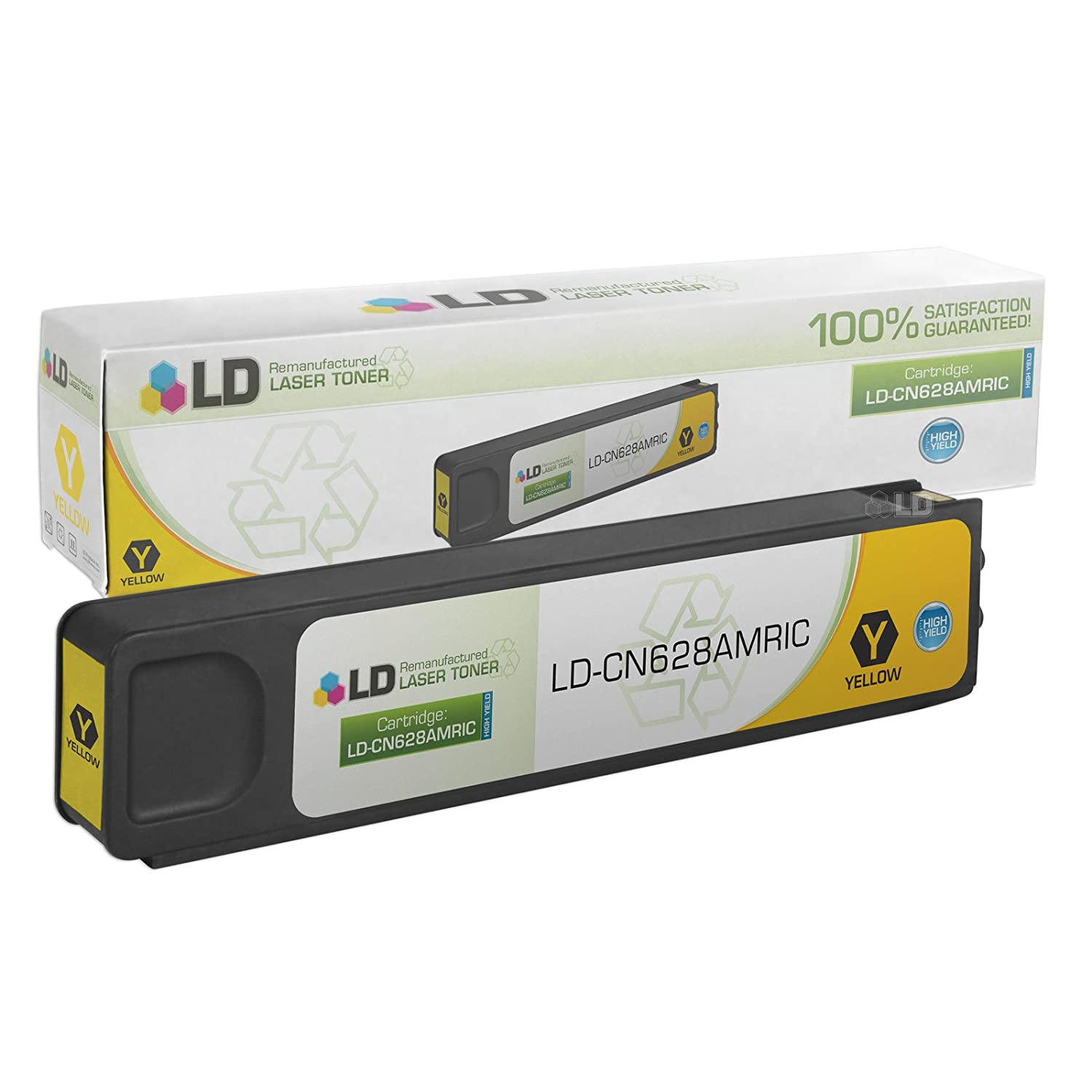 Remanufactured HP 971XL CN628AM Yellow Ink for Officejet Pro X451dn X451dw