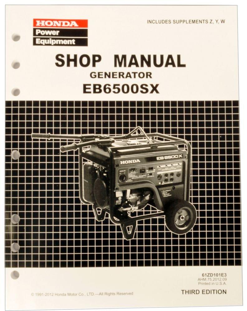 Honda Eu2000i Schematic Generator Schematics Eb Service Repair Shop Manual Lawn And Garden Tool Replacement Parts Outdoor