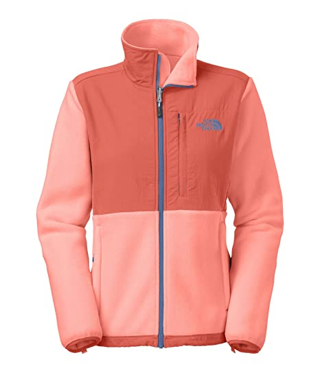 bcd414f04 The North Face Denali Jacket - Women's Recycled Punch Orange/Emberglow  Orange X-Small