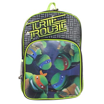 Teenage Mutant Ninja Tortugas Tortuga Trouble Mochila 3D FX ...
