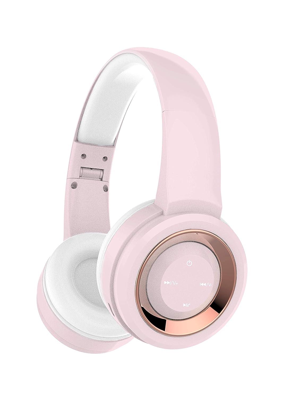 Gabba Goods Premium LyriX Wireless Bluetooth Volume Control Over The Ear Comfort Padded Stereo Headphones | Earphones