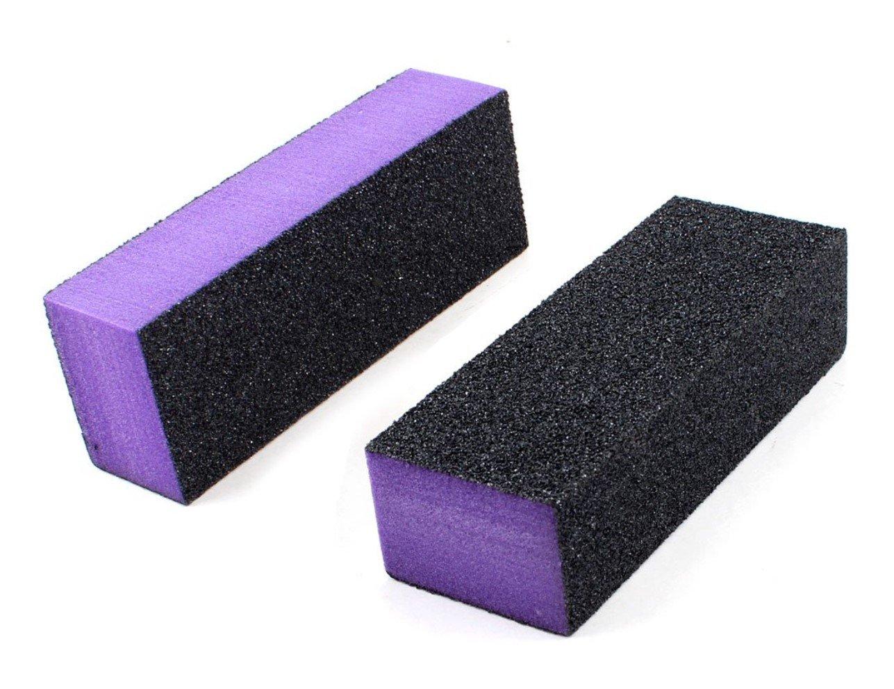 12Unidades de 3seitige alta calidad bloques lijado para limas para manicura y uñas Dermastil
