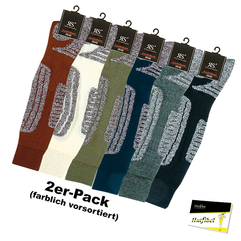 2er Pack Funktions-Ski-Kniestrümpfe für Damen (RS-33003) - inkl. EveryHead-Hutfibel