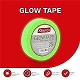 XFasten Glow in The Dark Tape, Yellow/Green, 1-Inch