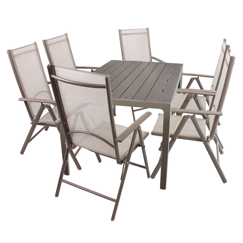 Affordable Set Aluminium Polywood Non Wood Gartentisch Xcm X Hochlehner Mit  Klappbar Bistrostuhl Gartenstuhl With Gartentisch Klappbar Alu