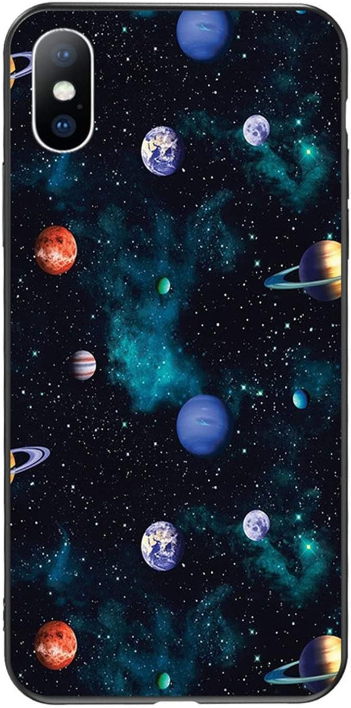 Custodia per iPhone 7 8 Plus XS Max XR 3D Funny Alien custodia per ...