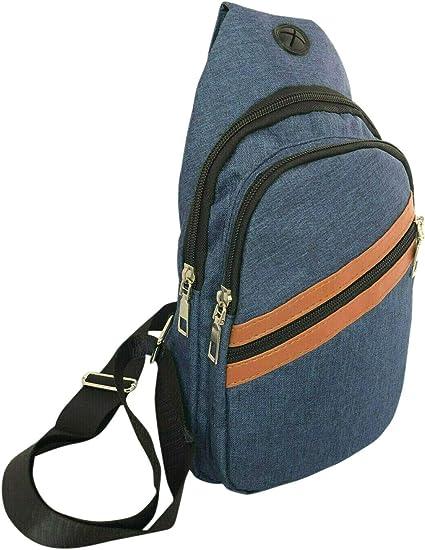 Men Crossbody Sling Bags Messenger Shoulder Bags Large Capacity Chest Bags Female Daily Men Waist Bags 03