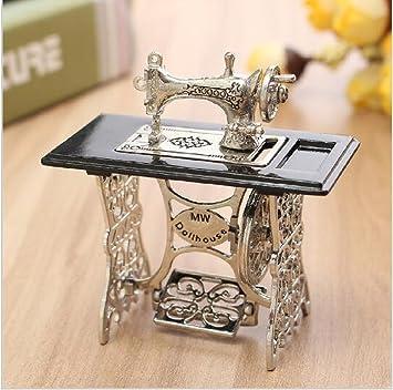 Miniatura de juguete para máquina de coser en miniatura, para ...