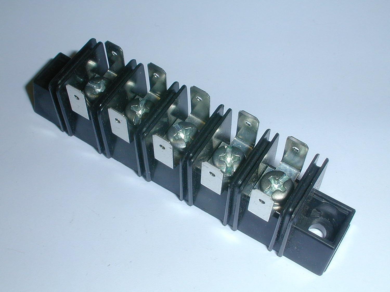 Wondrous A303505B3 5 Position Single Row Terminal Block With 187 Qc Wiring 101 Orsalhahutechinfo