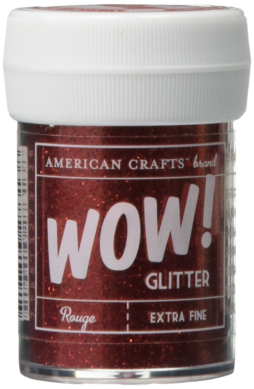 Art Wall AMC27326 30 ml Glitter, Extra Fine, White American Crafts Inc.