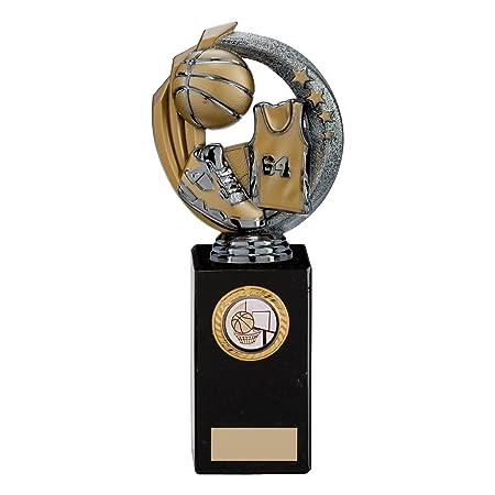 Pistola Metal Renegade de baloncesto leyenda trofeos, 8.75 inch ...