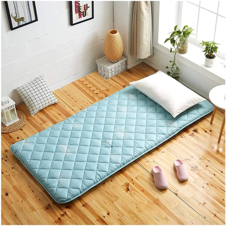 Colchón de algodón Tatami Bamboo Charcoal Bed Mattress Pad ...