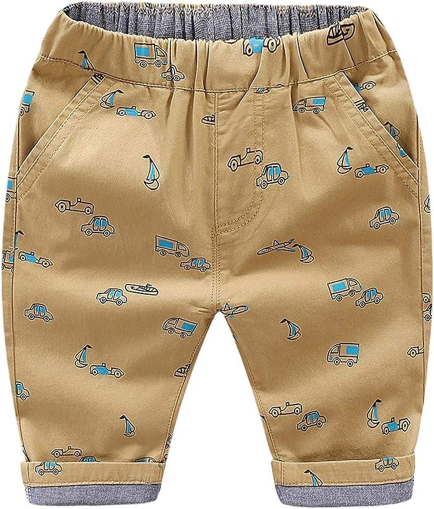 Icegrey Ropa Infantil Pantalones Cortos para Niños Pantalones de ...
