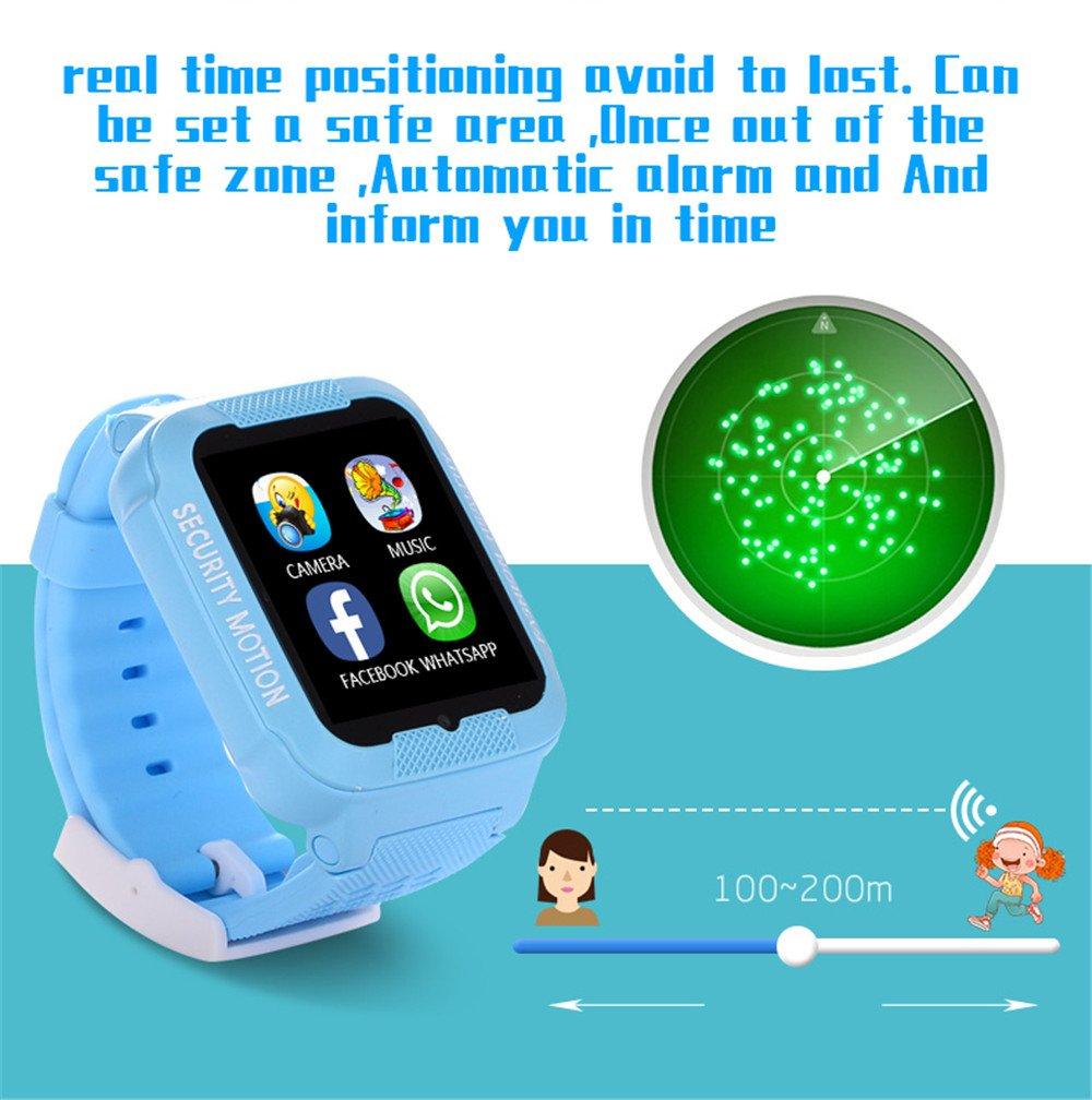 Amazon.com: PAIWEISZ K3 - Reloj inteligente para niños ...