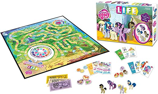 The Game of Life: My Little Pony: USAopoly: Amazon.es: Juguetes y juegos
