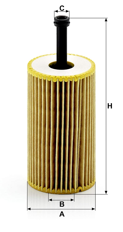 Pour v/éhicules particuliers Original MANN-FILTER Filtre /à huile HU 611//1 X